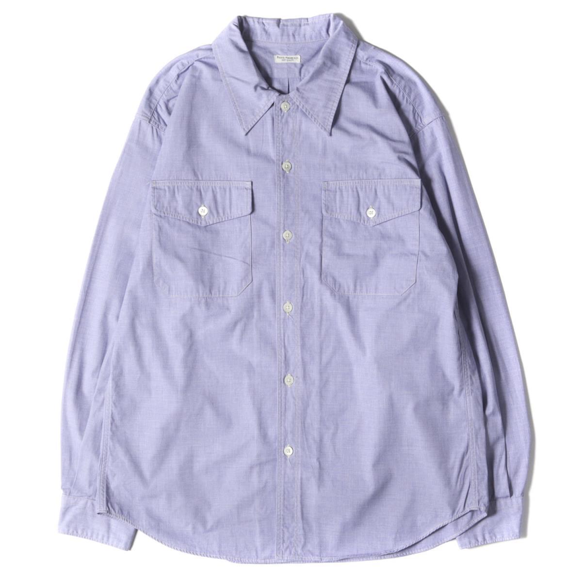 トップス, カジュアルシャツ PHIGVEL UTILITY SHIRT 20AW 1 K3072