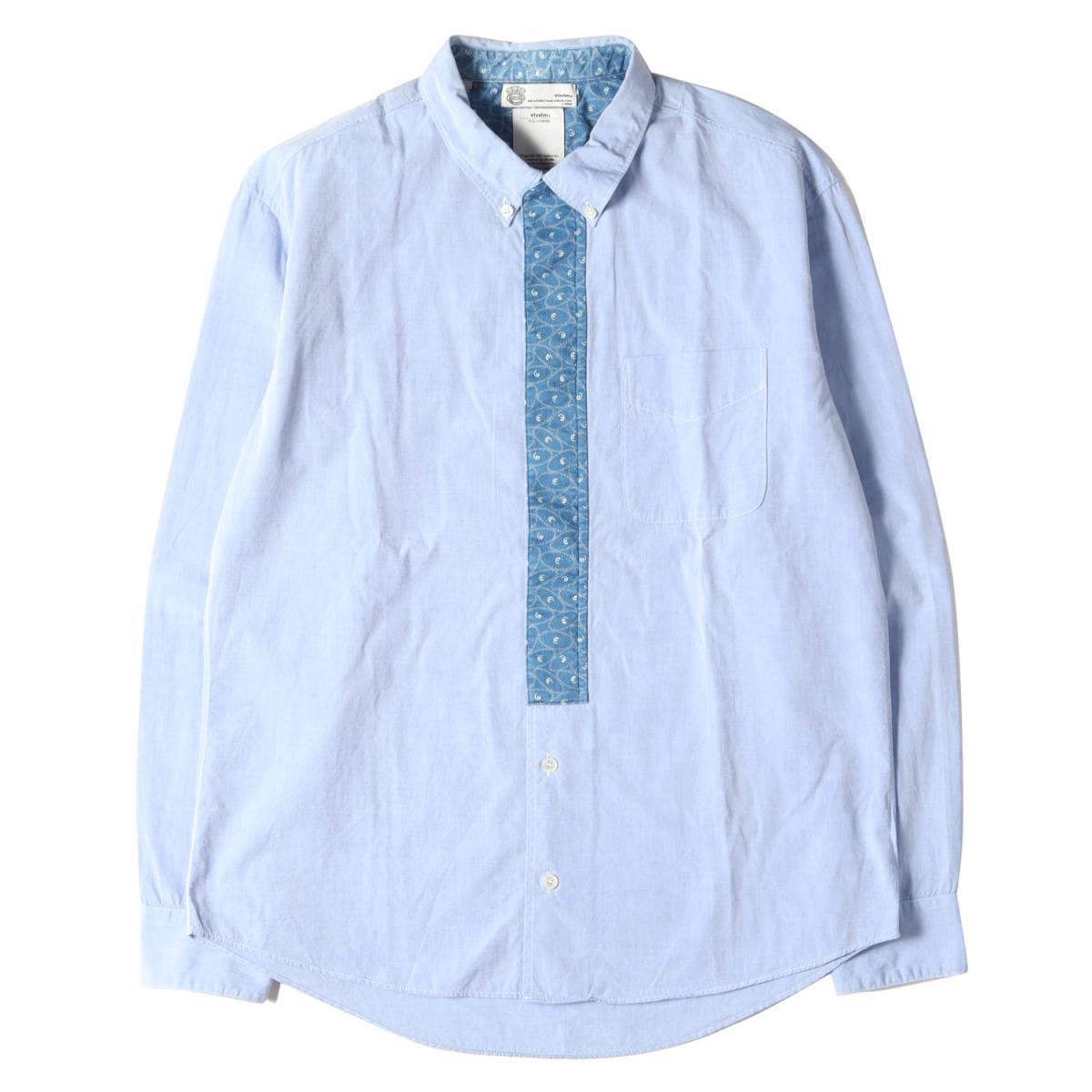 トップス, カジュアルシャツ visvim CRAVAT SHIRT INDIGO PIZI GIZA 2 K3155