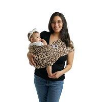 抱っこひもおしゃれ(ベビーキャリア)ベビーケターンプリントレオパード|横抱き抱っこひも新生児スリングコンパクト抱っこ紐ベビースリング出産祝いママへだっこひも抱っこケターンベビーケターンクロス
