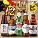 ベルギービール5種12本セット[送料無料][瓶][詰め合わせ