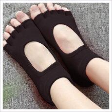 ヨガソックス 5本指 靴下 ソックス セット  3色3足 滑り止め付き ヨガ ホットヨガ 人気 おすすめ 送料無料