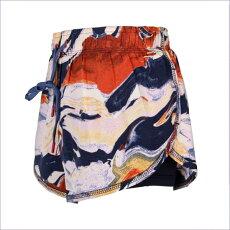 スポーツパンツ プリント ショートパンツ おしゃれ 体型カバー 重ね2枚仕立て 通気性 速乾 冷感 軽量 ヨガ ホットヨガ フィットネス トレーニング ジム 送料無料