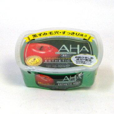 AHA クレンジングリサーチ ソープ 100g コンビニ受取対応商品