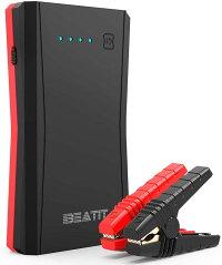 BeatitB10PROジャンプスターター大容量12V車用エンジンスターター最大電流800AQDSP技術最大7.2Lガソリン車5.5ディーゼル車に対応Type-Cポート搭載モバイルバッテリーポータブル充電器防災グッズスマホ急速充電小型軽量LED応急ライト搭載24ヶ月保証