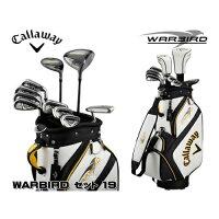 送料無料ゴルフクラブセットCallawayキャロウェイWARBIRD19オールインワンセット14PCスチールS_0190228863652_91