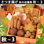 〜秋の収穫祭・秋-3〜おいしいを贈ろう。秋の味覚と本場鹿児島さつま揚げの出合い。見た目にも かわいらしい贈り物