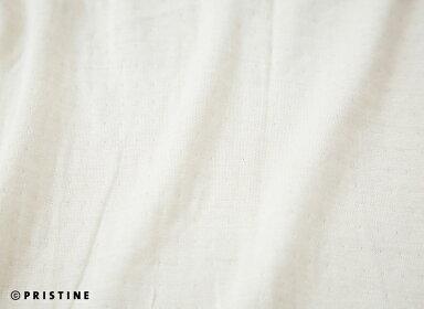 【送料無料】オーガニックコットン・プリスティンPRISTINEシルクエアニット・リバーシブルUネック・サービスプラン(ご試着はできません)(メール便使用)(代引きは宅配便送料を別途頂きます。)【smtb-MS】【RCP】【プリスティン】【PRISTINE】【オーガニックコットン】