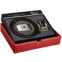 トミーヒルフィガー リバーシブル ベルト Tommy Hilfiger メンズ バックル ロゴ カジュアル フォーマル 小物 お祝い プレゼント オシャレ