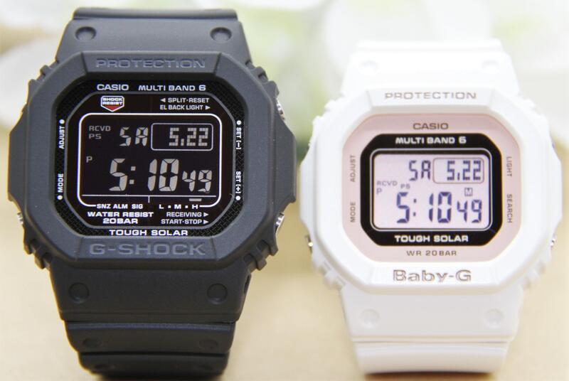 腕時計, ペアウォッチ G-SHOCK BABY-G GW-M5610-1BJFBGD-5000U-7DJFL OVE