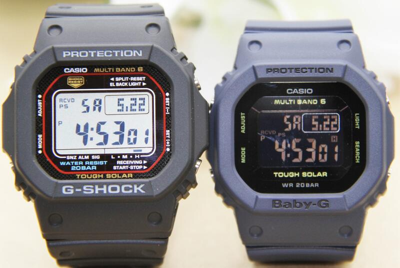 腕時計, ペアウォッチ G-SHOCK BABY-G GW-M5610-1JFBGD-5000U-2JFLOV E
