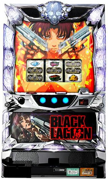 BLACK LAGOON3 ブラックラグーン3【中古】《コインレスセット》パチスロ実機画像