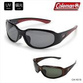 [送料無料あす楽][Coleman]コールマン軽量スポーツサングラスサングラスUVカット偏光レンズメンズ/釣りゴルフアウトドアサイクリングプラスチックフレームCM-4018