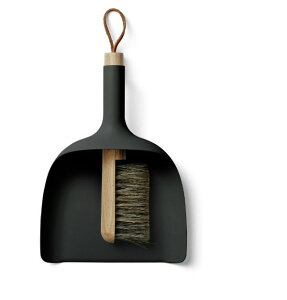 MENU Sweeper & Funnel ブラック 4801539ちりとり&ブラシ セット …