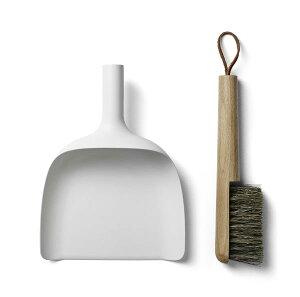 MENU Sweeper & Funnel ホワイト 4801639ちりとり&ブラシ セット …