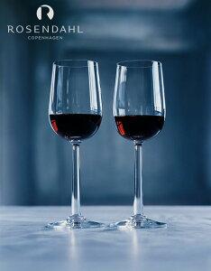 ワイングラス セットローゼンダール社 コペンハーゲンGrand Cru ボルドー ワイングラス 赤ワイン 450ml <2個セット> 25340 北欧 ワイン レッドワイン ペアセット ギフト 贈り物 プレゼント 無料ラッピング