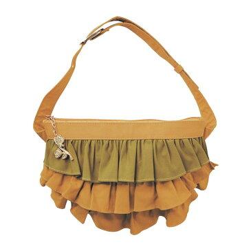 【Disney】ディズニー フリルウエストポーチ 「ベル」 バッグ カバン かばん レディース 女性 鞄 ヒップ ウエスト ポシェット