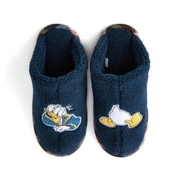 【Disney】ディズニー足首まであったかな脱ぎ履きしやすいもこもこボアスリッパ「マリー」