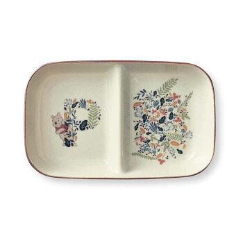 【100円OFFクーポン配布中!10/111:59まで】【Disney】ディズニーくいしんぼう仕切り皿「WithBalloons」