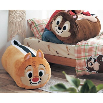 【Disney】ディズニーぬいぐるみになる布団収納袋「チップ」
