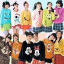 【 Disney 】 ディズニー【かおかお】フリースプルオーバー ◆ S M L LL 3L ◆ ◇...