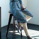 【BELLE MAISON】ベルメゾン 裾スリット綿混リブレギンス 「アイボリー」 ◆ S M L LL 3L ◆ ◇ 女性 インナー レギンス スパッツ ◇