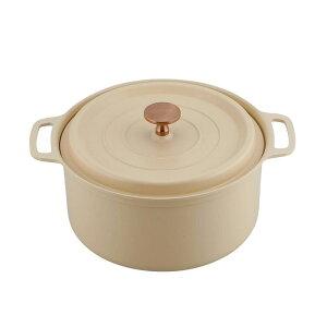 ベルメゾン オーブンで使える軽量ココット鍋 18cm・20cm 「 イエロー 」 ◆ 20cm ◆ ◇ 調理 料理 器具 ツール 道具 鍋 土鍋 圧力鍋 ◇