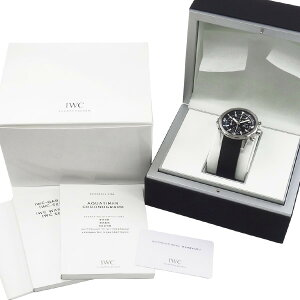 【】IWCシャフハウゼンアクアタイマークロノグラフIW376803【腕時計】【メンズ】【自動巻】