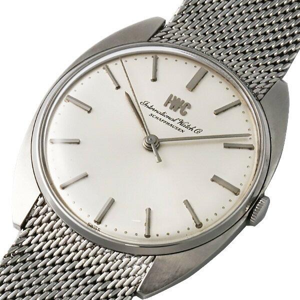 【中古】IWC シャフハウゼン 手巻き 文字盤シルバー SS 腕時計 アンティーク:BELLE MONDE