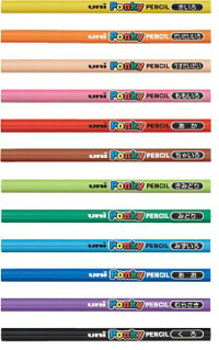 三菱鉛筆ポンキー/PonkyPENCIL単色【K800】ポンキーペンシル