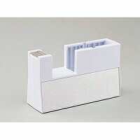 ニチバン テープカッター 直線美 TC-CBK5 小巻用 白