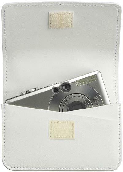 【訳あり・箱なし】hmny カメラケース(小) ホワイト(白)