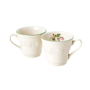 【ウエッジウッド】【WEDGWOOD】【フェスティビティラズベリー】【マグ】【紅茶】【コーヒー】...