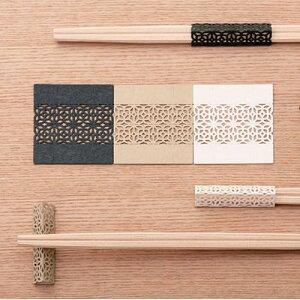 cohana お箸飾り6 枚セット・利久箸付き