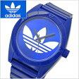 adidas originals アディダス オリジナルス 腕時計 Santiago (サンティアゴ) シャイニーブルー トレフォイル/メンズ ADH2656