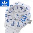 アディダス オリジナルス adidas originals 腕時計 ニューバーグ NEWBURGH ホワイト x ブルー/アディダスADH3012