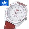 アディダス オリジナルス adidas originals 腕時計 アジア限定モデル 男女兼用・ユニセックス/メンズ・レディース Stan Smith (スタンスミス) ホワイト x レッド アディダス ADH9088