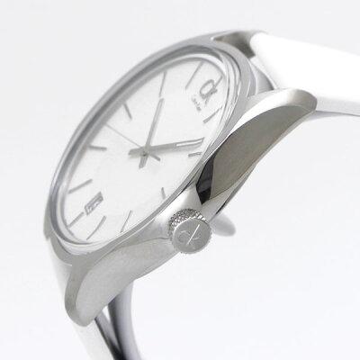 カルバンクラインCalvinKlein腕時計CKMasculineマスキK2H21101ュリンホワイト文字盤メンズ/男性用スイス製