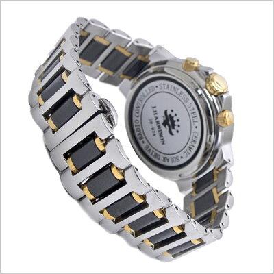 【ジョンハリソン】J.HARRISONソーラー電波腕時計天然ダイヤモンド4石付ペアウォッチメンズ&レディース/男性用&女性用4ジョンハリソンJH-024MBB-JH-024LBB【送料無料】