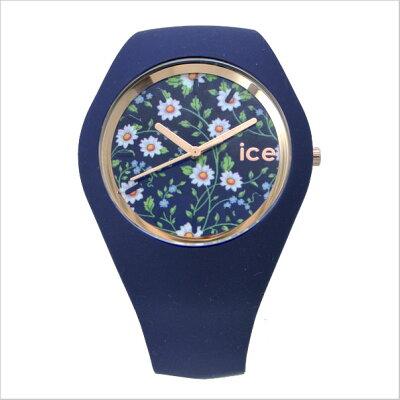 【アイスウォッチ】ICEWATCH腕時計ICEFlowerアイスフラワーデージ/ホワイト・ユニセックス(男女兼用)花柄・ボタ二力ル柄アイスウォッチICE.FL.DAI.U.S【送料無料】