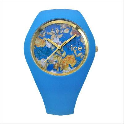 【アイスウォッチ】ICEWATCH腕時計ICEFlowerアイスフラワーミスティック/ターコイズブルー・ユニセックス(男女兼用)花柄・ボタ二力ル柄アイスウォッチICE.FL.MYS.U.S【送料無料】