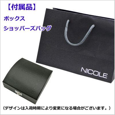 NICOLEニコルペンダント/ネックレスシルバー925製・オニキスチェーンNC-LS149【送料無料】