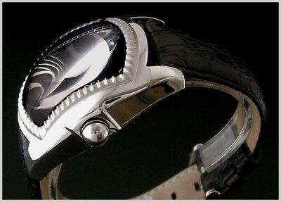 RitmoLatino(リトモラティーノ)CLASSICO(クラシコ)ワニ革黒ベルト黒文字盤(正規品)Q3AL33SS