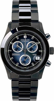 It is 20%OFF ML -248 SWISS MILITARY (the Swiss military) PVD BLACK big Kurono navy clockface (male business) (regular article)
