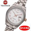 【テクノス】 TECHNOS 腕時計 レディース チタン製 TSL91...