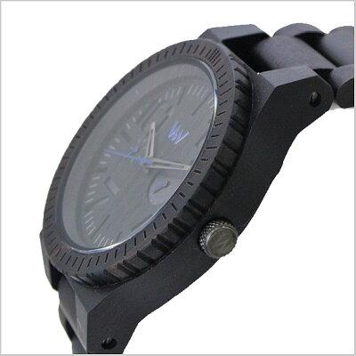WEWOODウィーウッドOBLIVIOブラック腕時計天然木製(ナチュラルウッド)マルチカレンダーユニセックス/男女兼用9818081【送料無料】