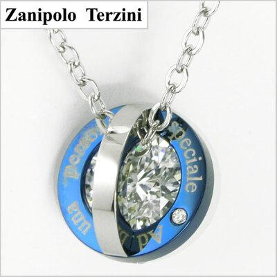 ZanipoloTerzini(ザニポロ・タルツィーニ)サージカルステンレス製ペンダント/ネックレスZTP2239M-BL