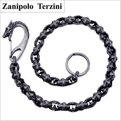ZanipoloTerzini(ザニポロ・タルツィーニ)ウォレットチェーンサージカルステンレス製ザニポロタルツィーニZTWC350【送料無料】