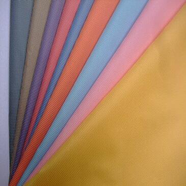 【撥水加工 先染 チェック ミジン千鳥 75d x 75d】ポリエステル100% 撥水加工 生地 先染めチェック9色:イエロー・ピンク・サックス・オレンジ・ブルー   レッド・パープル・ライトブラウン・ネイビー122cm幅 ハンドメイド 縫製 撥水 織物 日本製