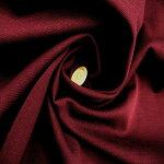 *1m以上、50cm単位での販売となります。*【コットン100%40/-ミラノリブニット生地エンジ色】145cm幅コットン100%40単糸引揃ミラノリブニットカラー:エンジ色綿ニットハンドメイド裁縫カットソー布綿日本製