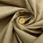 *1m以上、50cm単位での販売となります。*【ハーフリネン/リネンコットンツイル生地生成り】150cm幅カラー:生成り綾織布帛織物ハンドメイド裁縫麻リネン布無地ナチュラル日本製